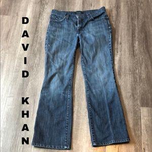 EUC David Khan bootleg jeans